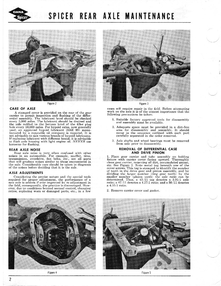 Axle and Differential Page 2