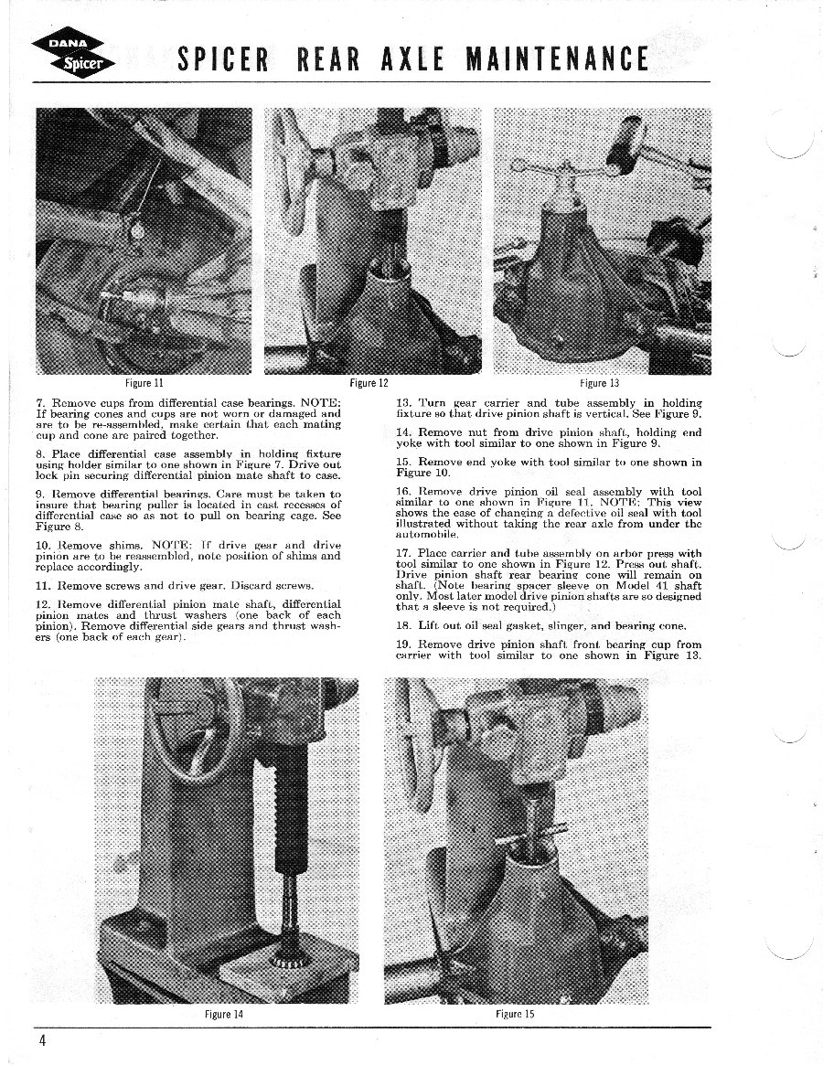 Axle and Differential Page 4