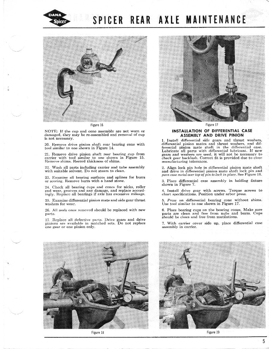 Axle and Differential Page 5