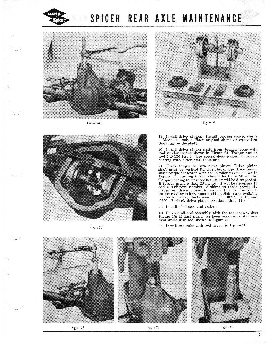 Axle and Differential Page 7