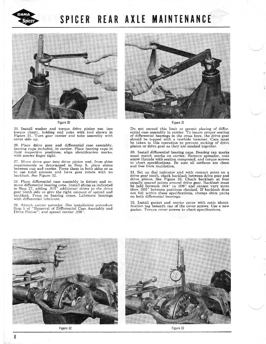 Axle and Differential Page 8
